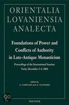 Foundations of power and conflicts of authority in late-antique monast