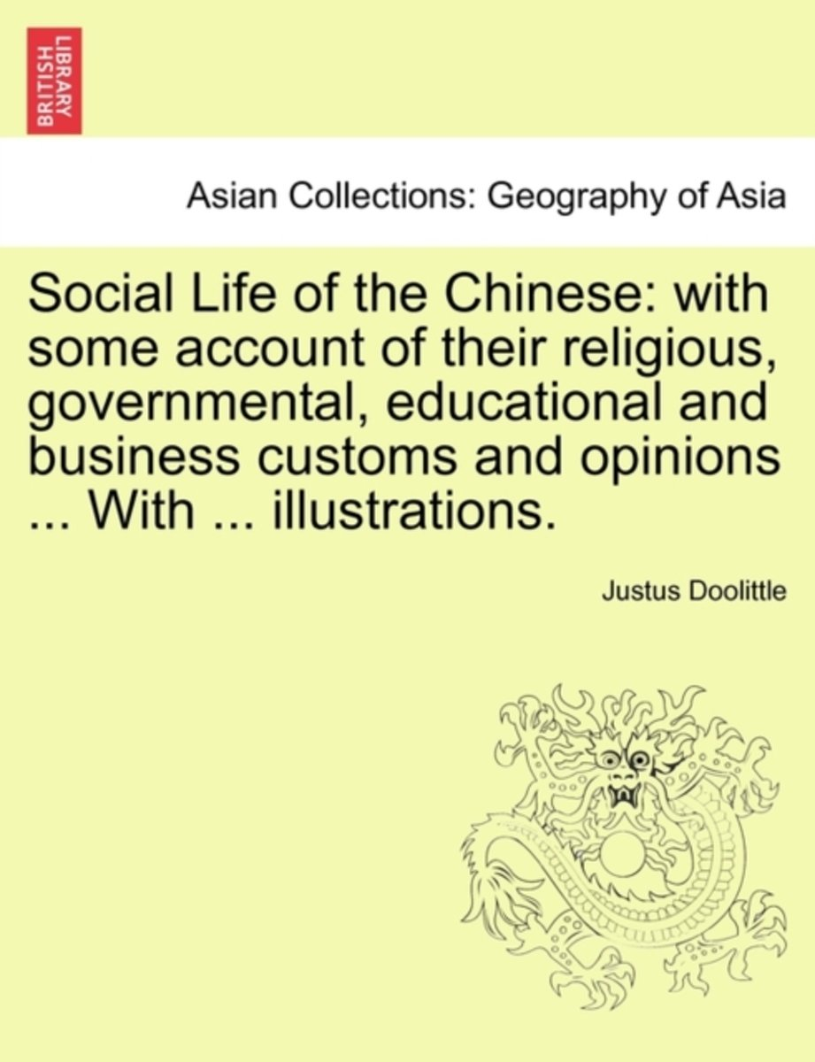 Social Life of the Chinese