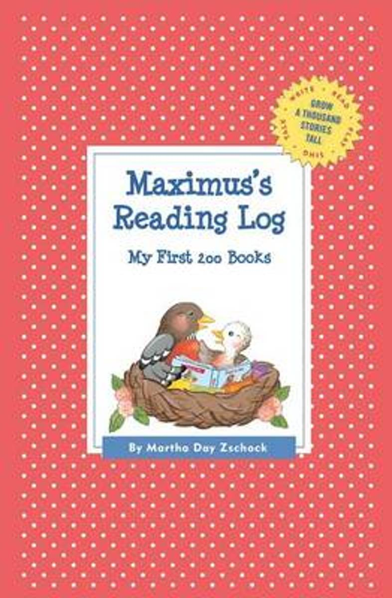 Maximus's Reading Log