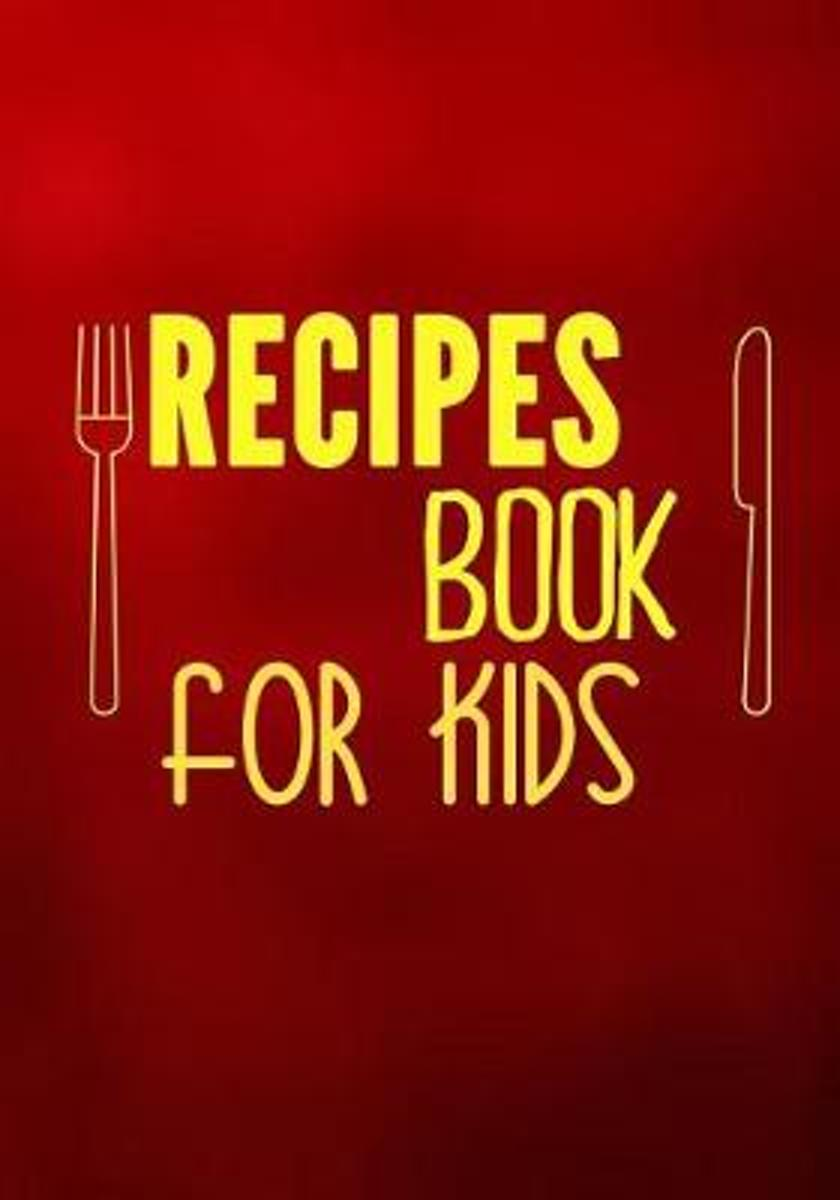 Recipes Book for Kids