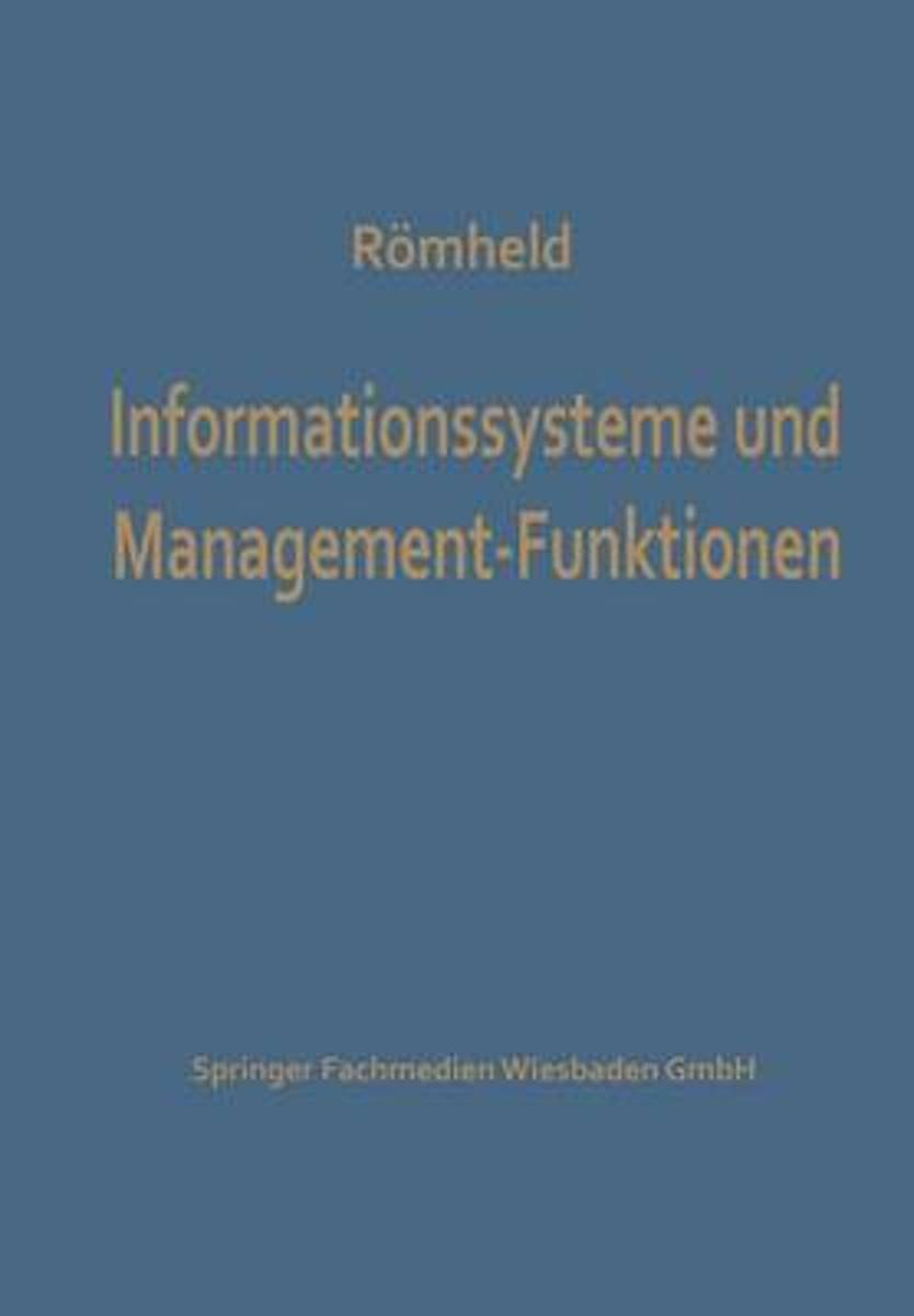 Informationssysteme Und Management-Funktionen