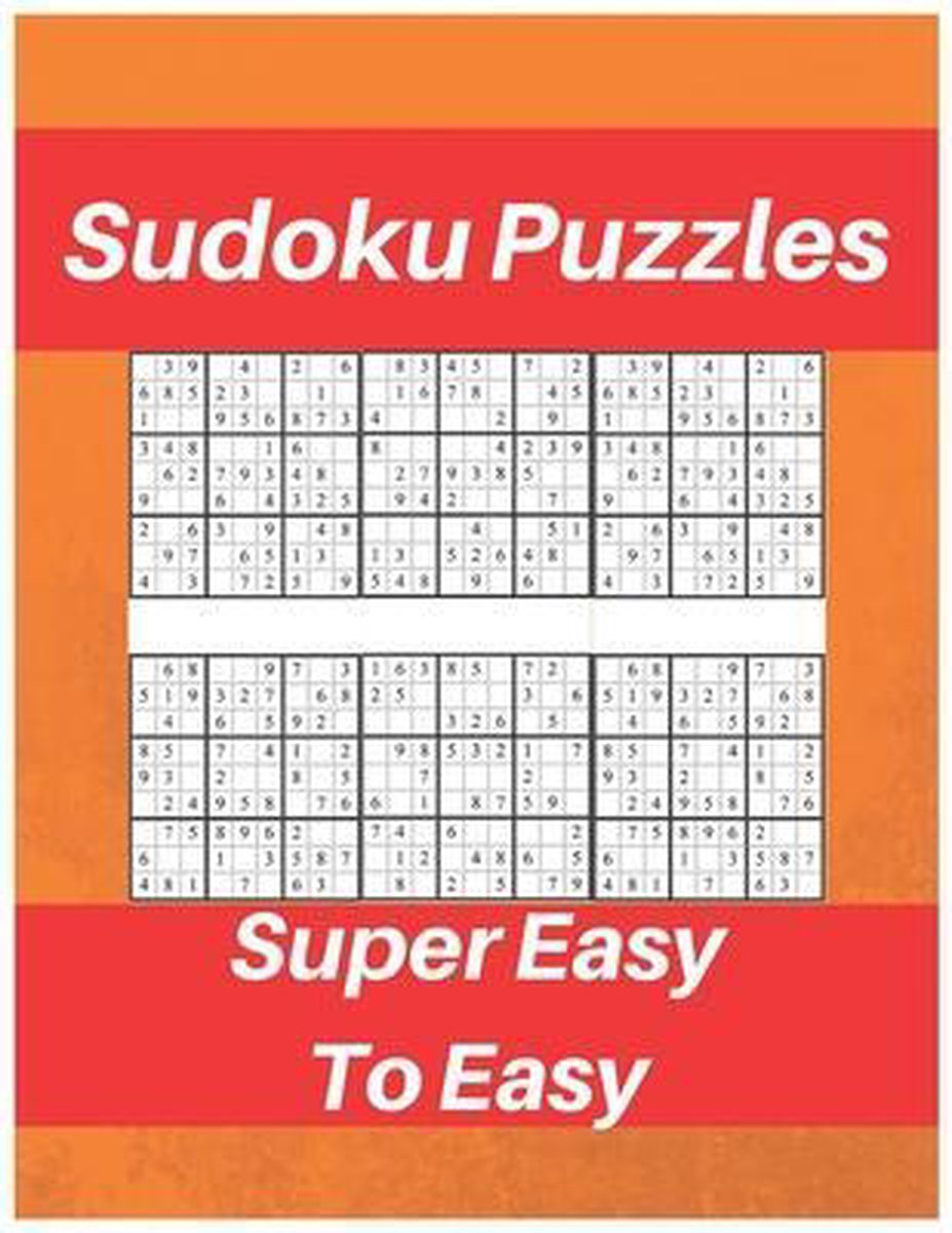 Sudoku Puzzles Super Easy To Easy