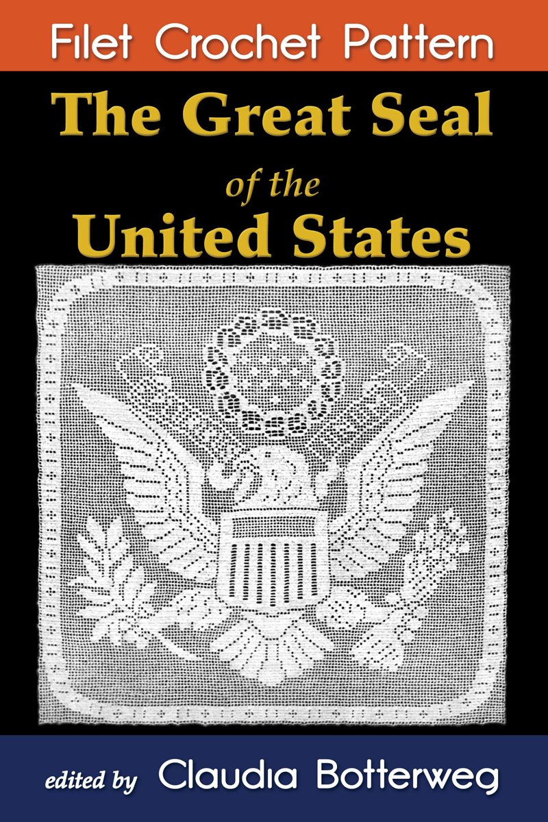 The Great Seal of the United States Filet Crochet Pattern