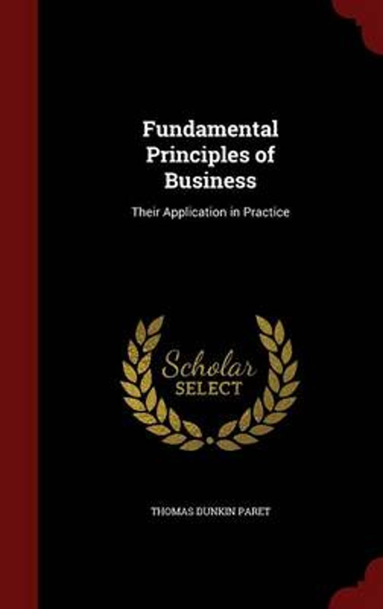 Fundamental Principles of Business