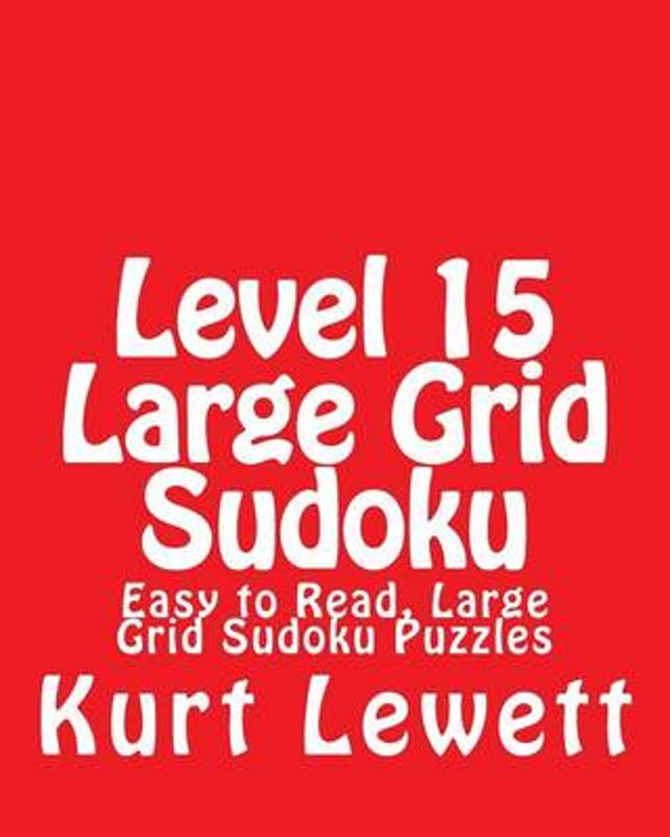 Level 15 Large Grid Sudoku