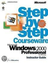 Windows 2000 Professional Step By Step Instructor's Guide