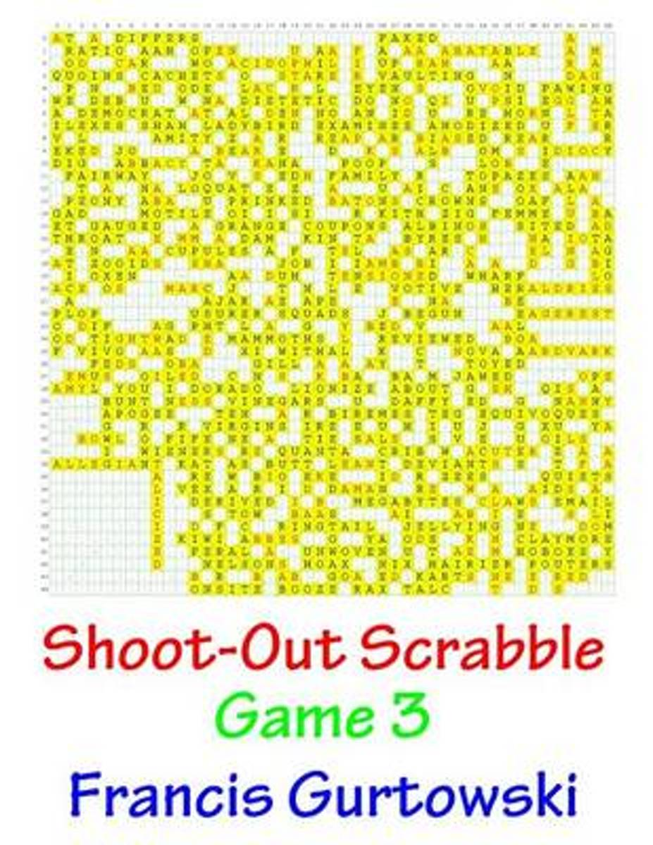 Shoot-Out Scrabble Game 3