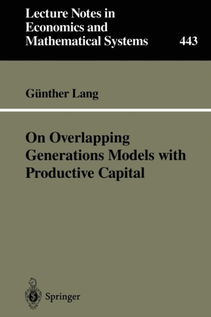 On Overlapping Generations Models with Productive Capital