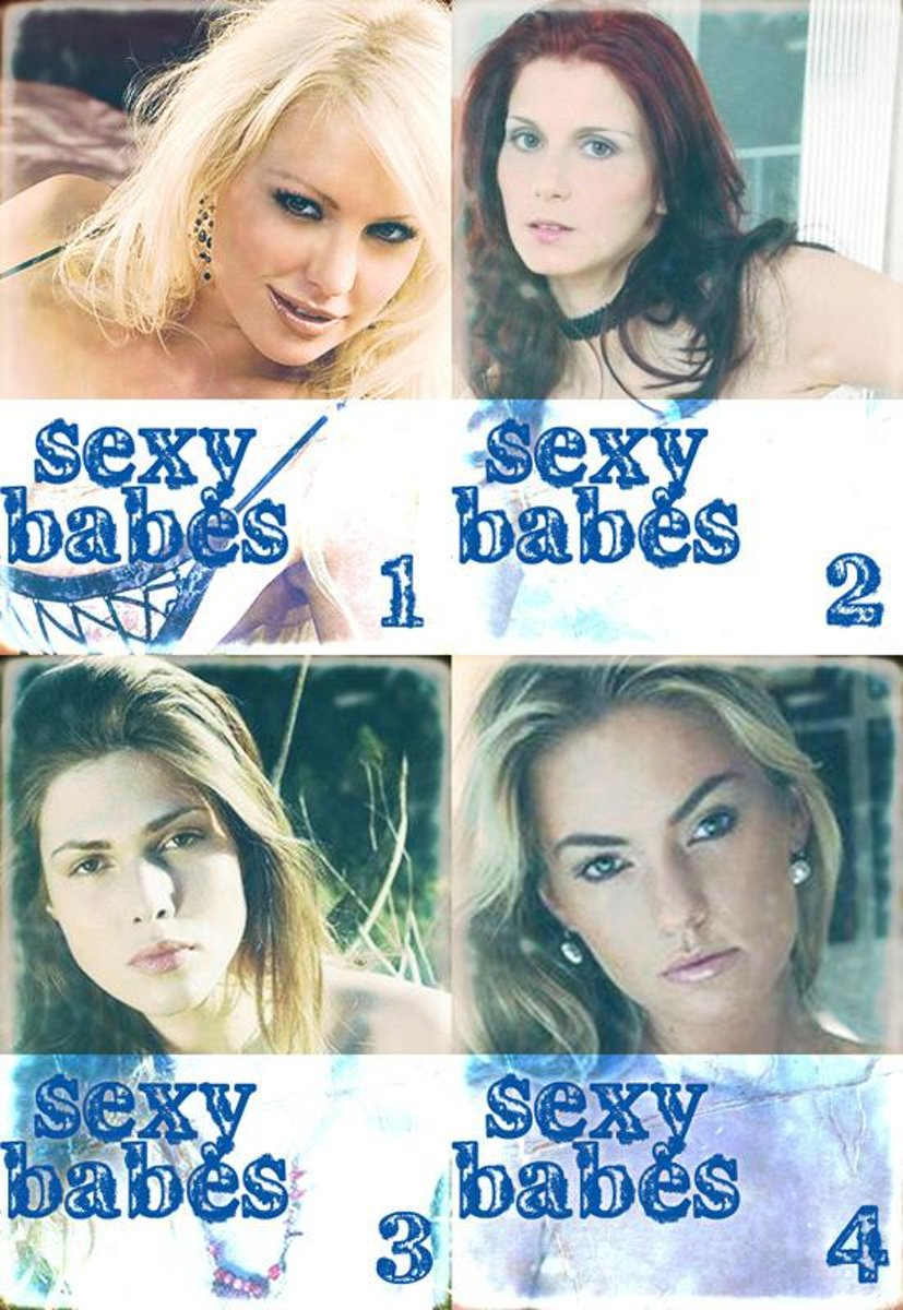 Sexy Babes Collected Edition 1 – Volumes 1-4