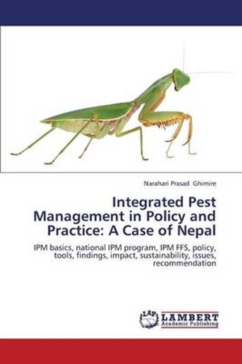Integrated Pest Management in Policy and Practice