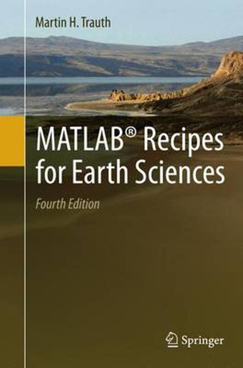 MATLAB (R) Recipes for Earth Sciences