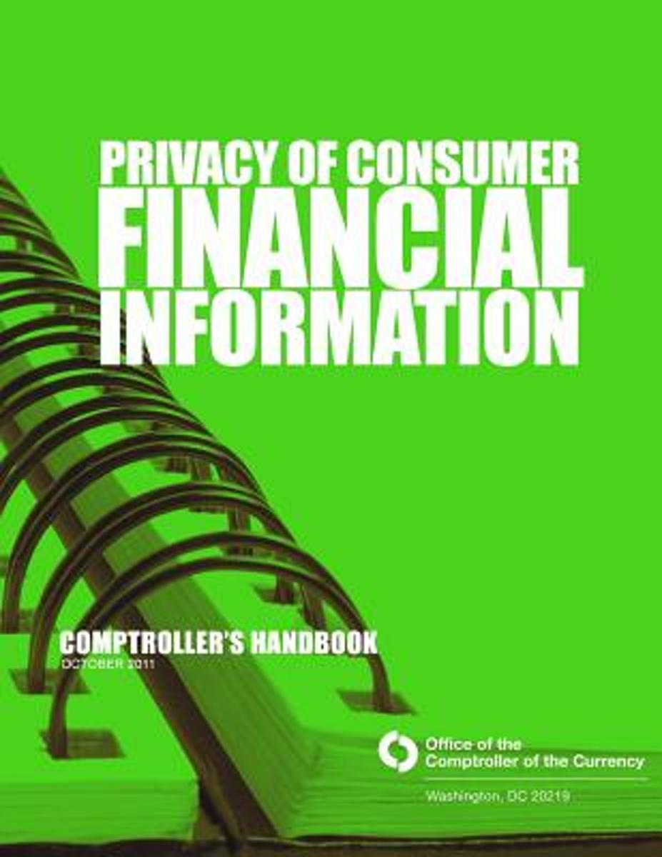 Privacy of Consumer Financial Information October 2011