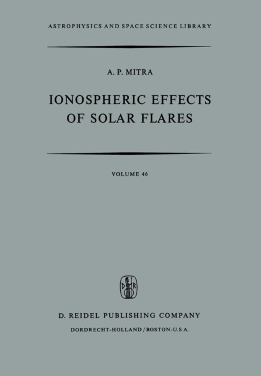 Ionospheric Effects of Solar Flares