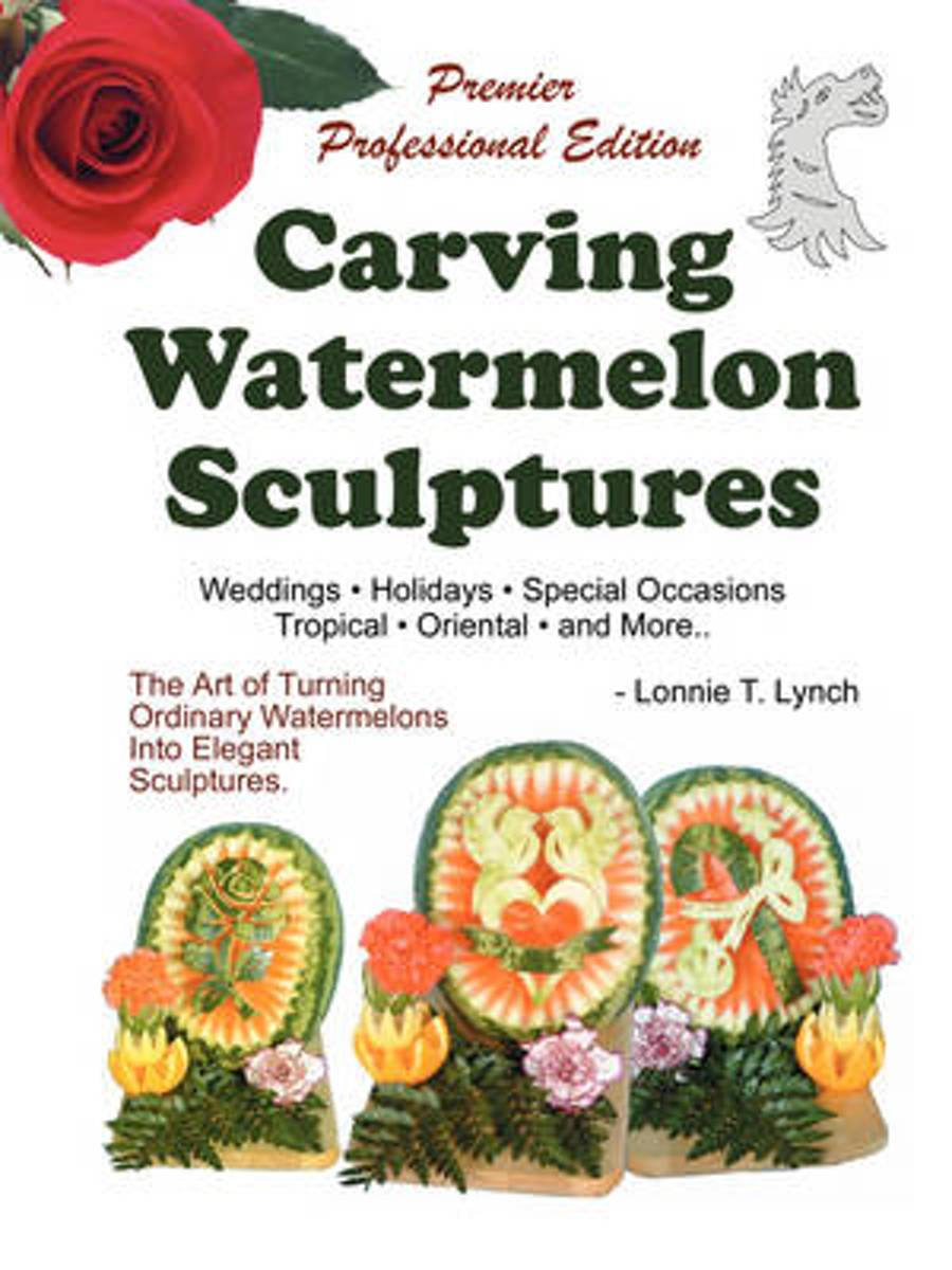 Carving Watermelon Sculptures