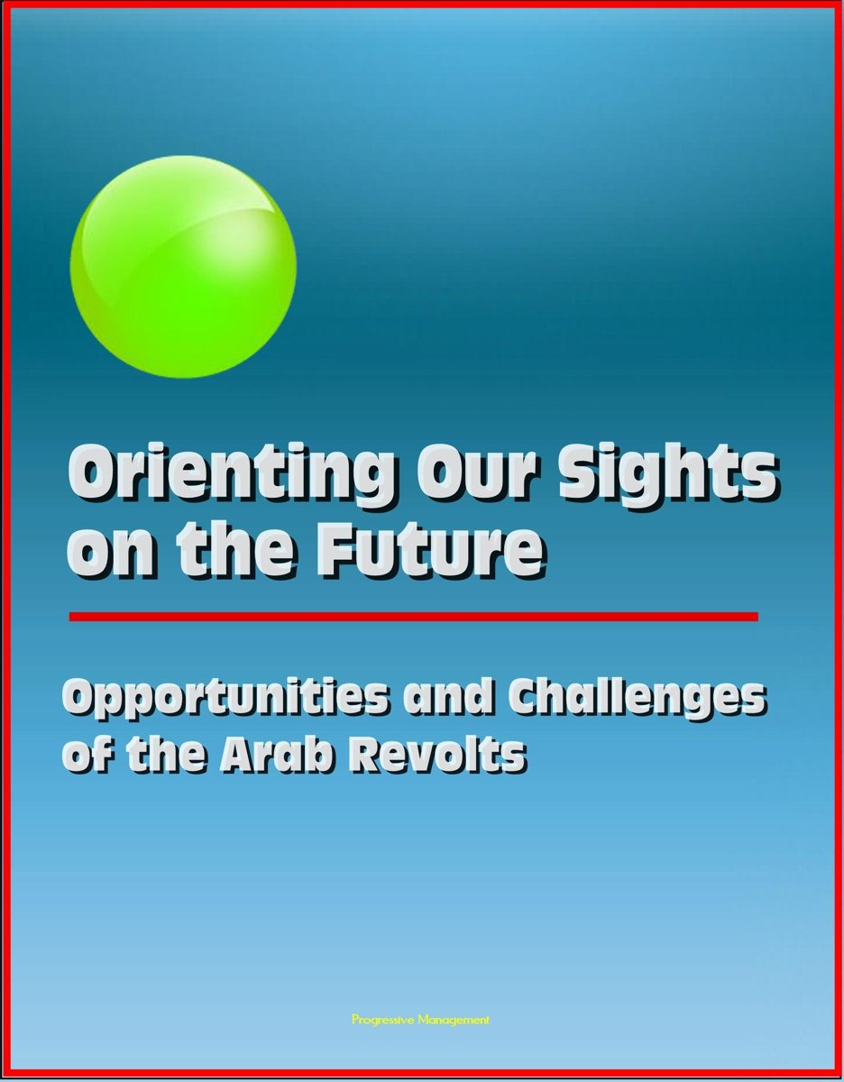 Orienting Our Sights on the Future: Opportunities and Challenges of the Arab Revolts