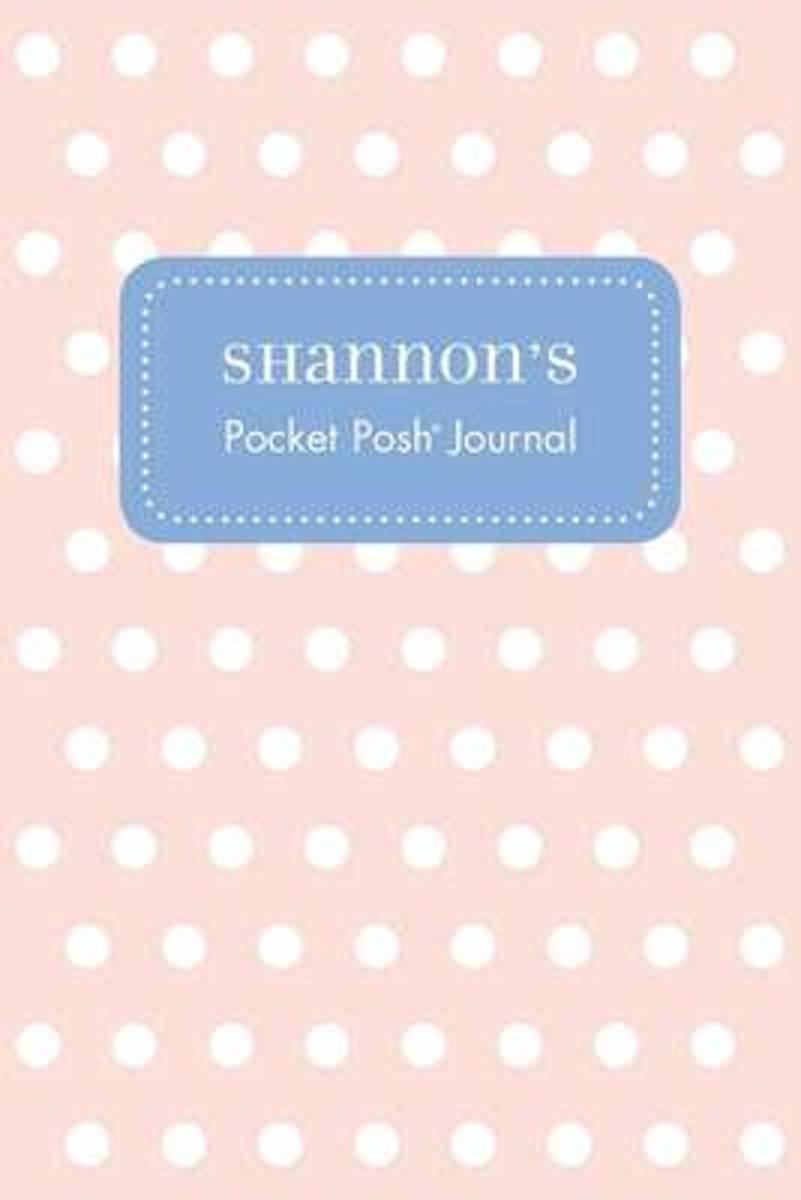 Shannon's Pocket Posh Journal, Polka Dot