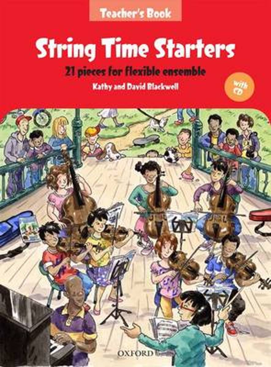STRING TIME STARTERS TEACHERS BOOK & CD