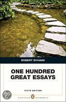 One Hundred Great Essays (Penguin Academic Series)