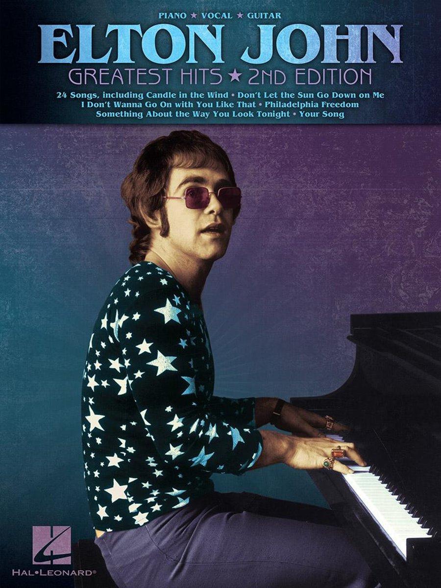 Elton John - Greatest Hits (Songbook)