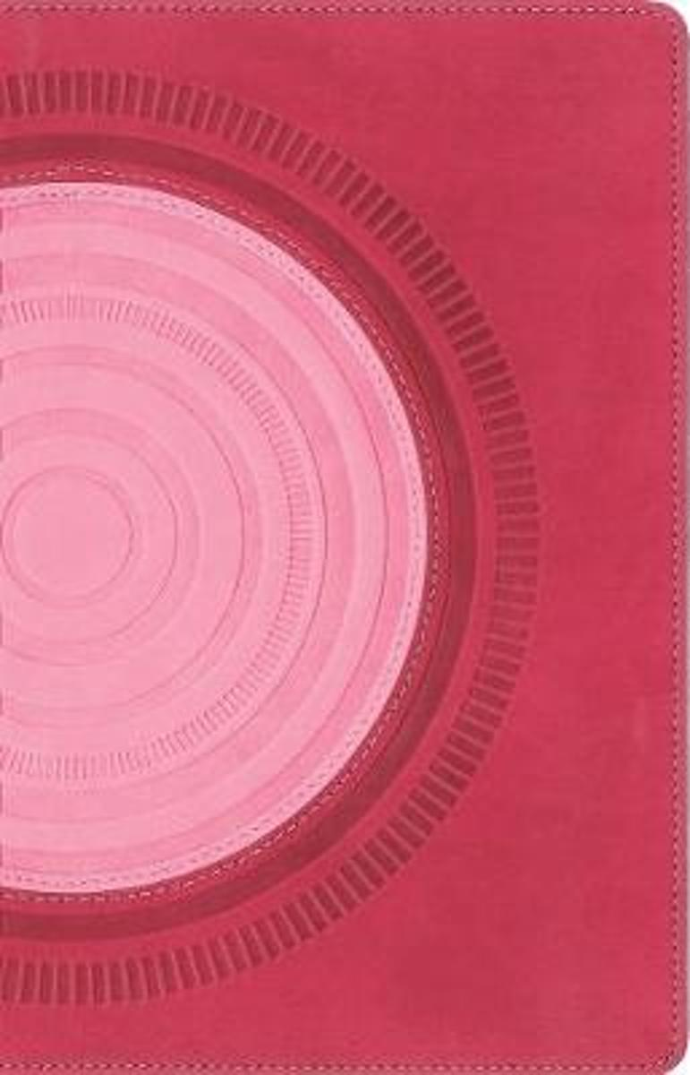 NIV, Thinline Bible for Teens, Leathersoft, Pink, Red Letter Edition, Comfort Print