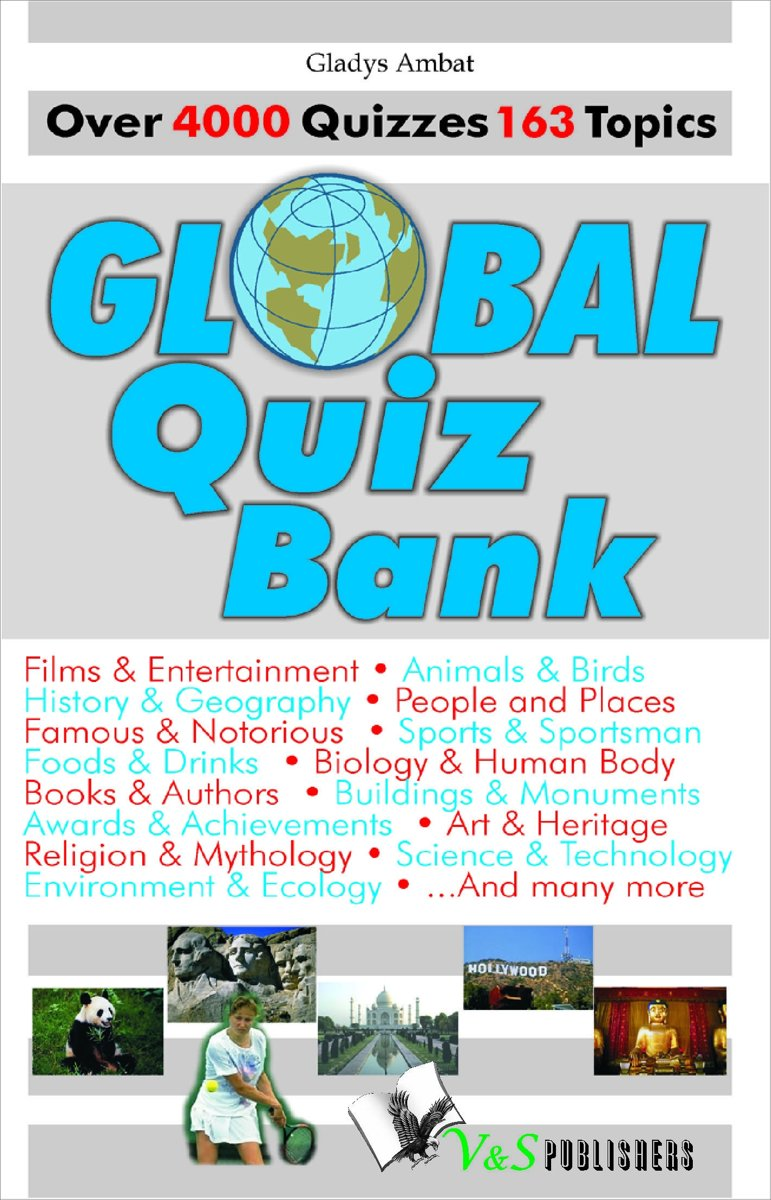 Global Quiz Bank: Over 4000 Quizzes on 163 topics