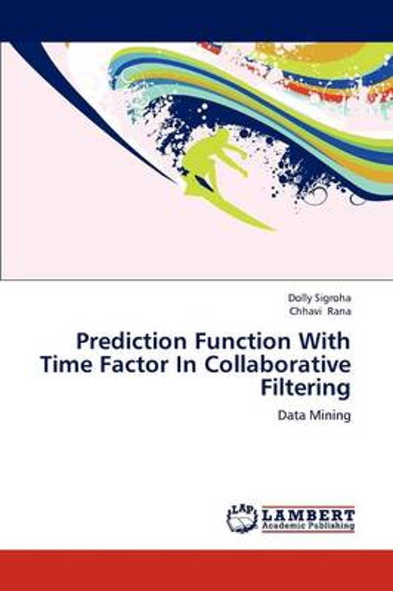 Prediction Function with Time Factor in Collaborative Filtering
