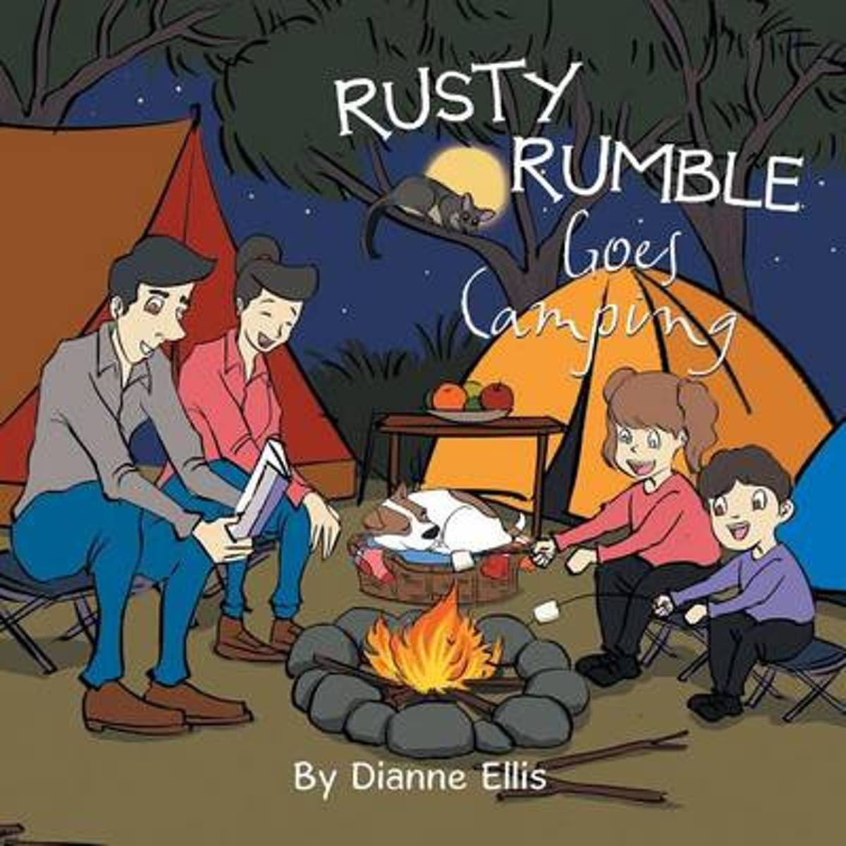 Rusty Rumble Goes Camping