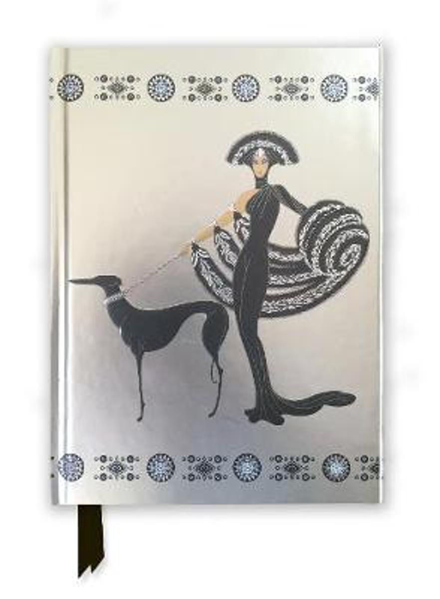 Erte Symphony in Black (Foiled Journal)