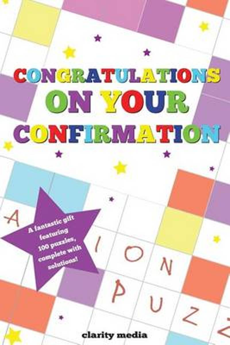 Congratulations on Your Confirmation Puzzle Book