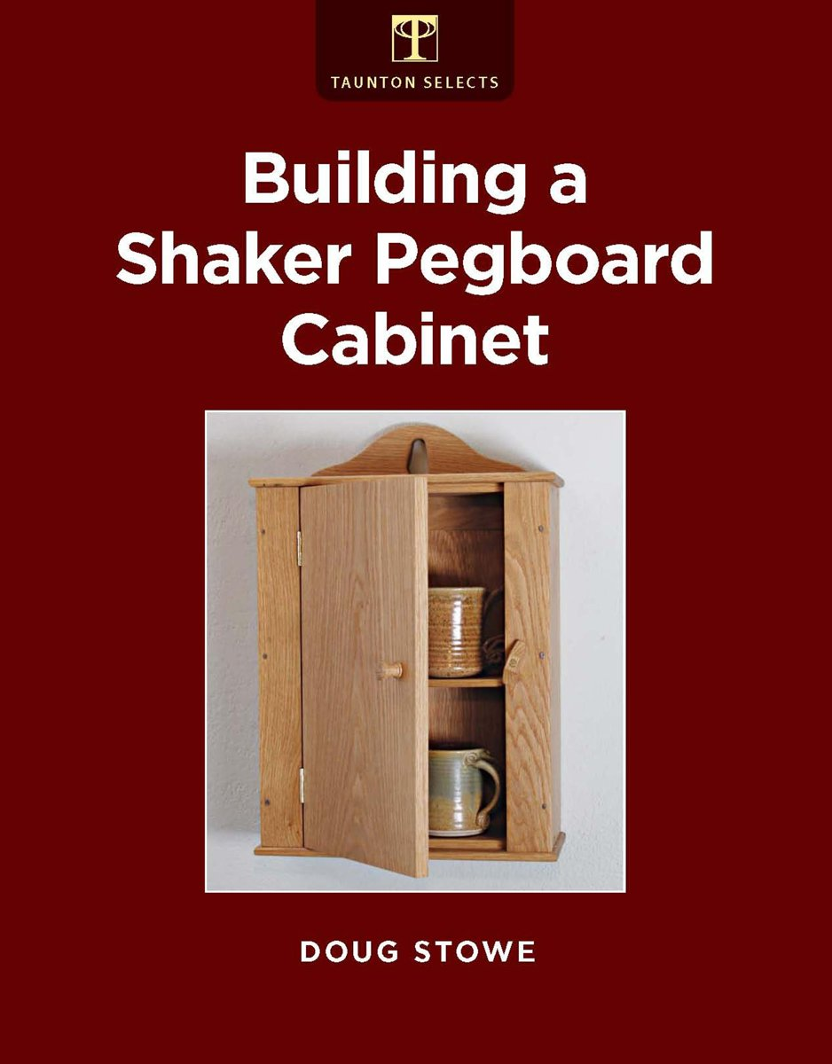 Building a Shaker Pegboard Cabinet