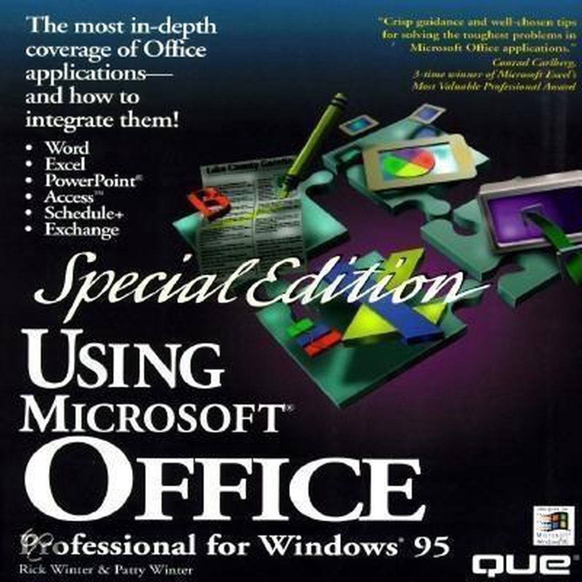 Using Microsoft Office Professional for Windows 95