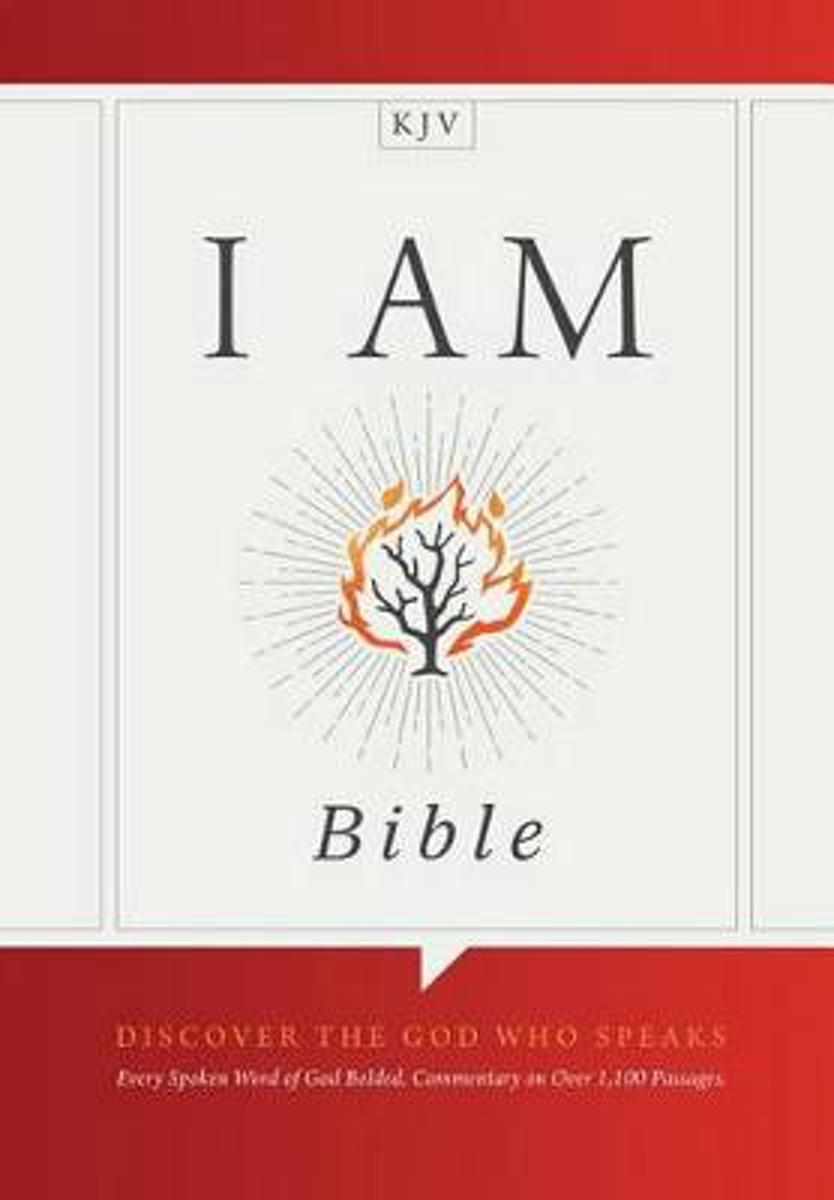 I Am Bible, Natural Cloth Over Board