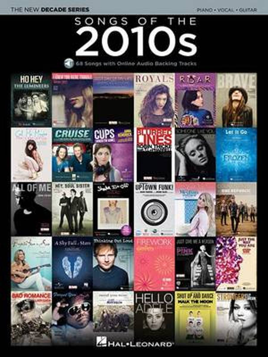 Songs Of The 2010s (PVG Book/Audio)