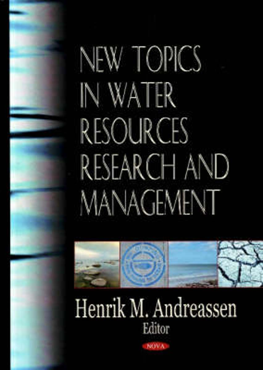 New Topics in Water Resources Research & Management