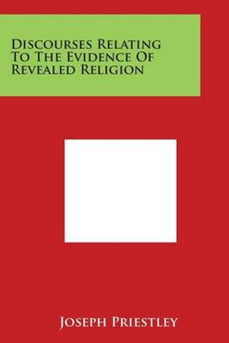 Discourses Relating to the Evidence of Revealed Religion