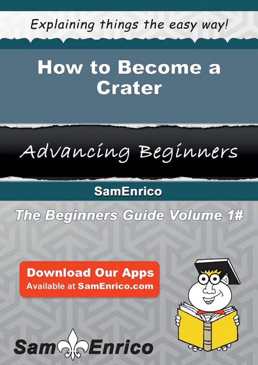 How to Become a Crater