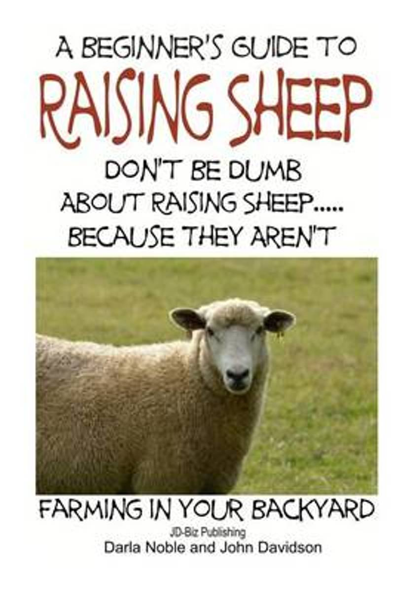 A Beginner's Guide to Raising Sheep - Don't Be Dumb about Raising Sheep...Because They Aren't
