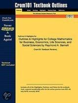Outlines & Highlights For College Mathematics For Business, Economics, Life Sciences, And Social Sciences By Raymond A. Barnett, Isbn