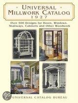 Universal Millwork Catalogue, 1927