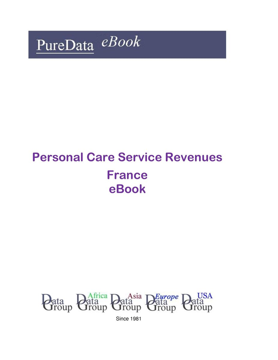 Personal Care Service Revenues in France