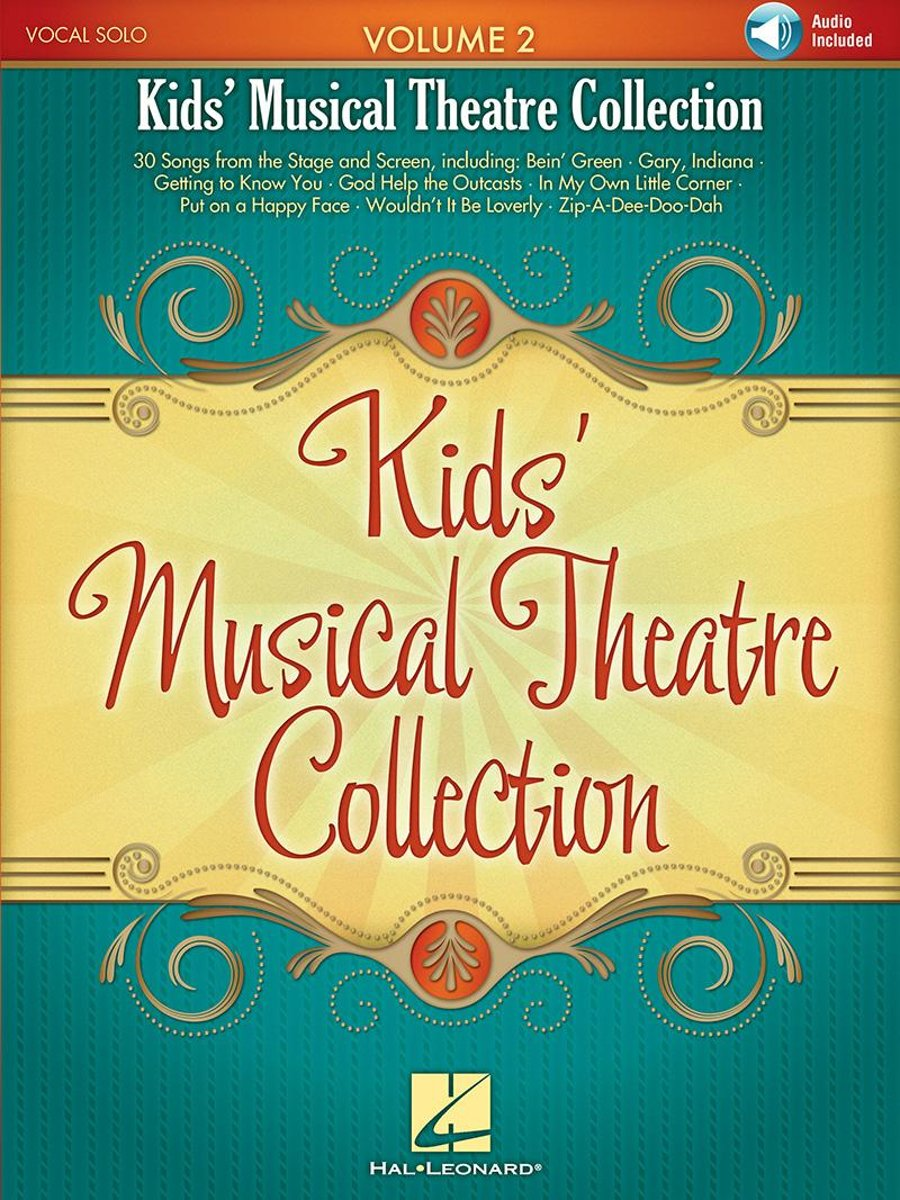 Kids' Musical Theatre Collection - Volume 2 Songbook