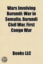 Wars Involving Burundi: War in Somalia,