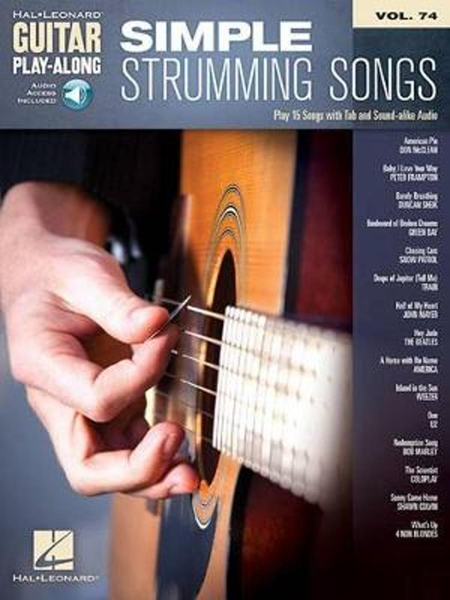Guitar Play-Along Volume 74