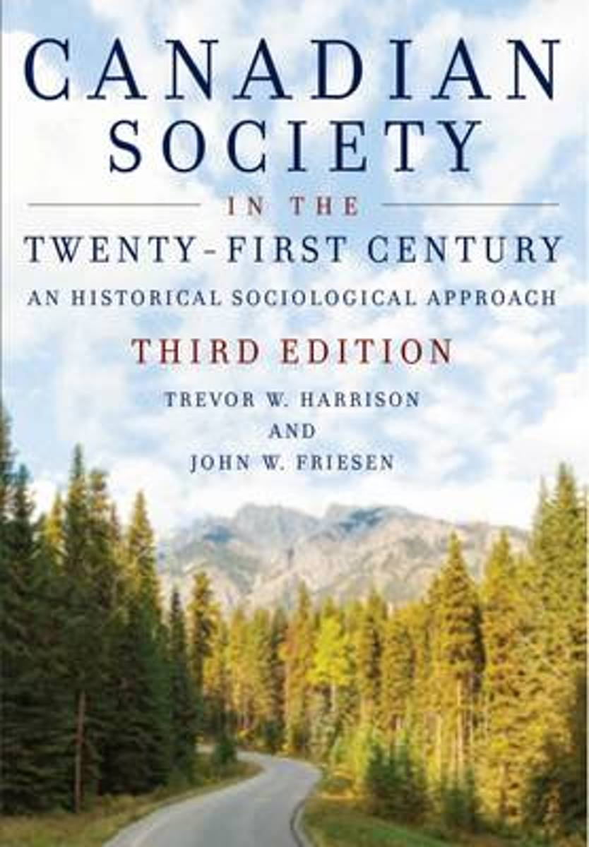 Canadian Society in the Twenty-First Century