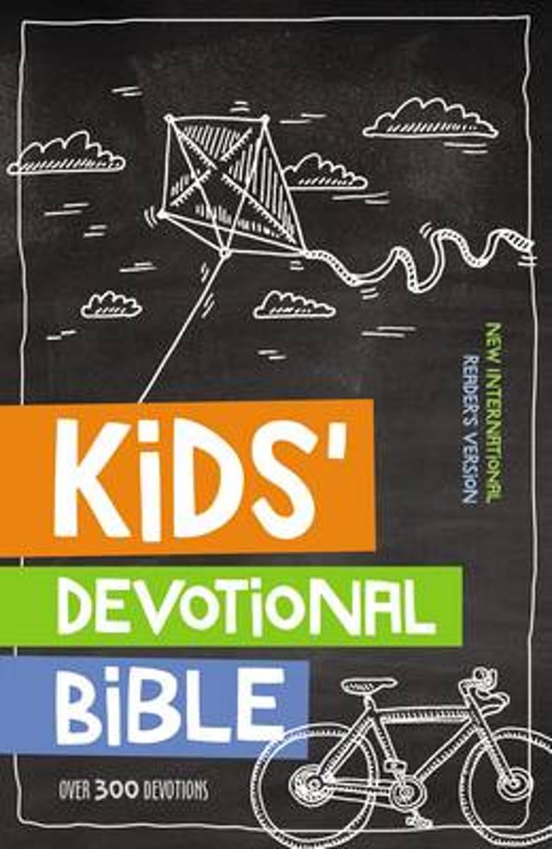 NIrV Kids' Devotional Bible, Hardcover