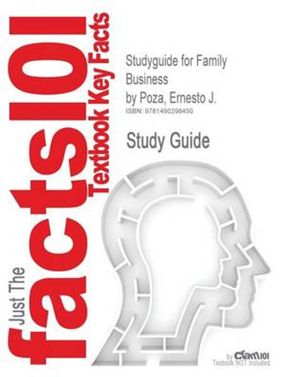 Studyguide for Family Business by Poza, Ernesto J., ISBN 9781285056821