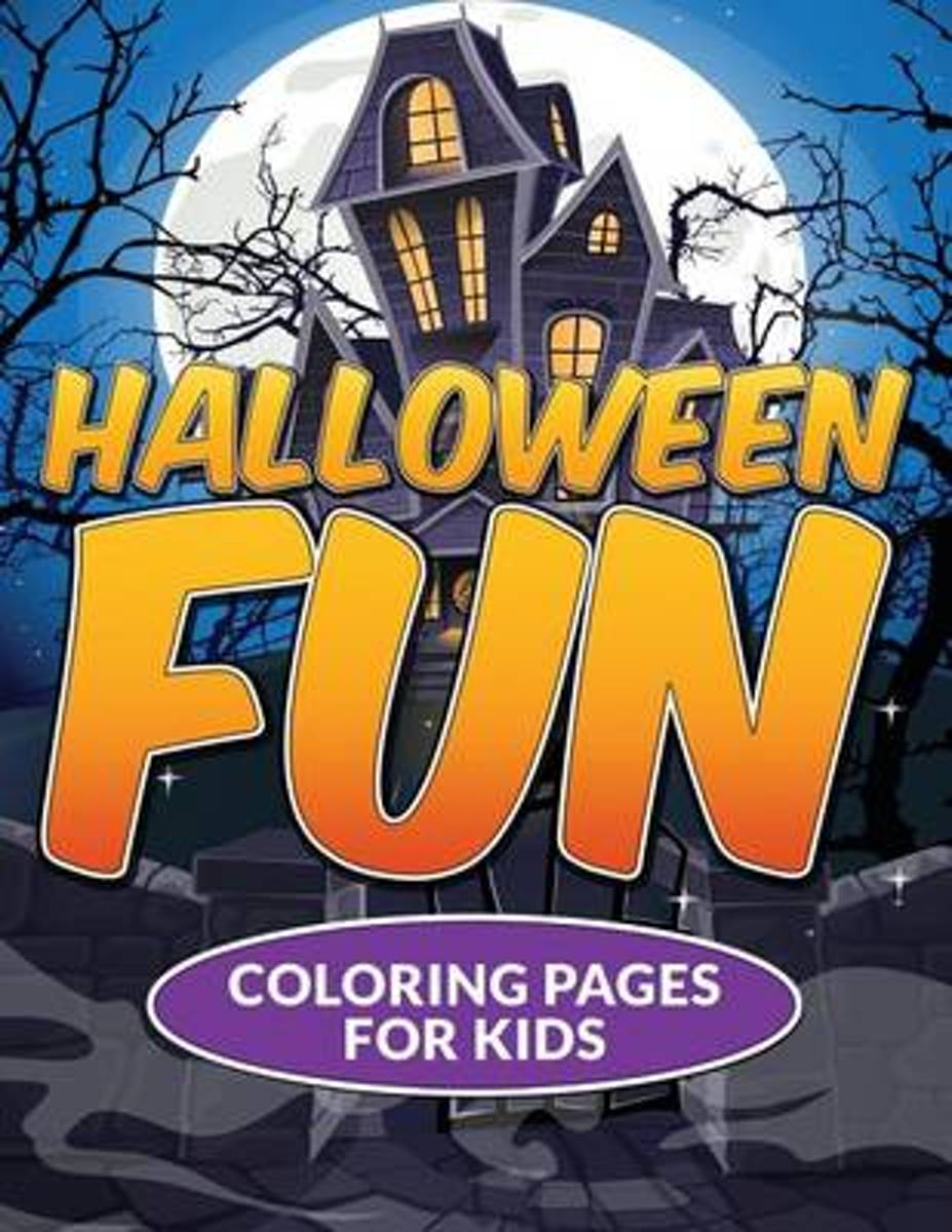 Halloween Fun Coloring Pages for Kids