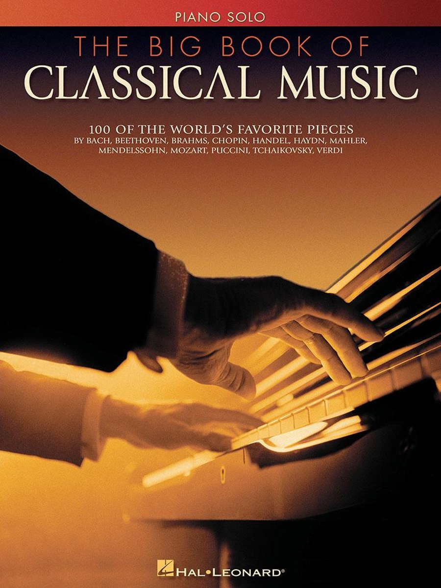 The Big Book of Classical Music (Songbook)