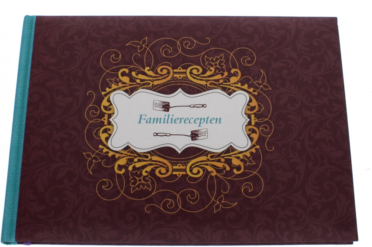 Haza Original Notitieboek Familierecepten 24 Cm Bordeaux