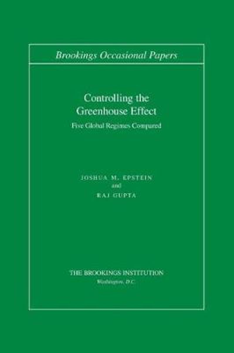Controlling the Greenhouse Effect